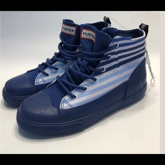 Hunter Kids Canvas Water Repellant Sneakers NWT